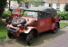 VW Kubelwagen (Type 82). Commonly referred to as the VW Thing here in the United States.