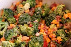 Broccoli Salad -  my new favorite, go-to salad recipe.