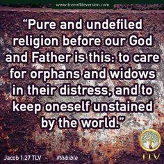 Jacob 1:27 TLV #tlvbible