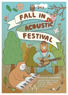 Circusboyband, Fall in acoustic festival poster