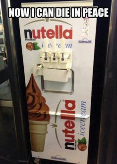 OMG! Tamara...do you think Frozen Yo makes a Nutella flavor!?! I. Would. Die.