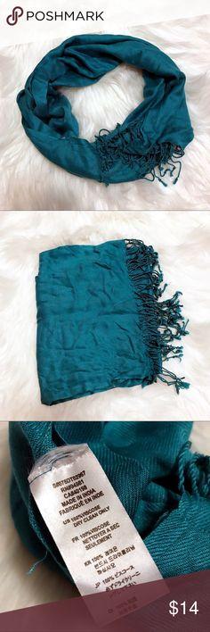 Blue green teal scarf Blue green teal scarf Accessories Scarves & Wraps
