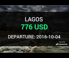 Flight from Charlotte to Lagos by Avia    BOOK NOW >>>