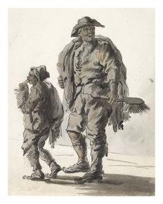 Sweep: 1759  Paul Sandby  © Museum of London