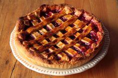 Tarta de frambuesas #homemade #vegetarianfood #deserts #pie #tartadeframbuesas #raspberries