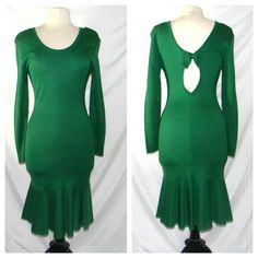 Vintage Lolita Lempicka dress in Emerald Green by FeliceSereno, $75.00