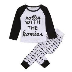 >> Click to Buy << Boys Autumn Clothes Girls Sets Cotton Children Clothing Set Letter Printed Long Sleeve Kids Clothes Girls Outfits #Affiliate
