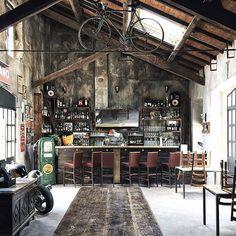 """Fonderie Milanesi | Milano  Beautiful Bar """