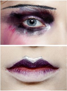 makeup at john galliano s/s 2010