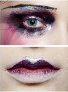 makeup at john galliano s/s 2010