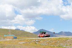"""Dacia 1310 """"Miorița"""" la Pasul Ala Bel din Kîrgîzstan"""