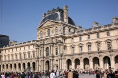 THE LOUVRE, originally a royal palace but now the world's most famous museum, is a must-visit for anyone with a slight interest in art. Some of the museum's most celebrated works of art include the Mona Lisa and the Venus of Milo.