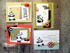 Sale-a-bration Panda Stampin'Up, Tutti-Frutti Briefpapier
