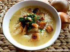 Polish Recipes, Polish Food, Cheeseburger Chowder, Hummus, Thai Red Curry, Veggies, Food And Drink, Dinner, Ethnic Recipes