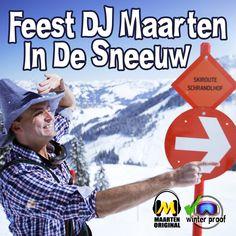 Feest DJ Maarten - In De Sneeuw Baseball Cards, Winter, Youtube, Sports, Winter Time, Sport, Winter Fashion, Youtube Movies