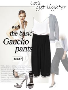 Let's get lighter with the basic Gaucho pants @Sans Souci