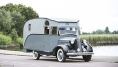 Classic:An 80-year-old motorhome believed to be the first ever built in…