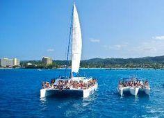 Catamaran Tour Ocho Rios - Ocho Rios jamaica catamaran to Dunns River Falls