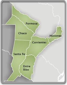 Marshlands, swamps and savannas Two places in Chaco Corrientes and Resistencia Santa Fe de la Vera Cruz Rosario Rosario_-Argentina