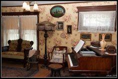 Living room in 1900's