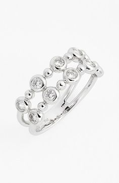 Bony Levy Diamond Stack Ring (Nordstrom Exclusive) available at #Nordstrom