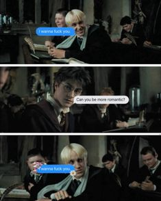 Not that much romantic draco oh my god #drarry