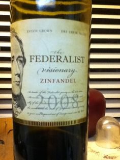 Excellent zin - find more if possible