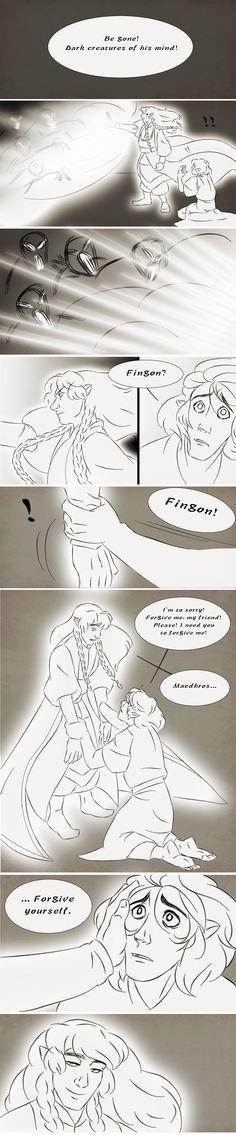"""""""Простите меня"""". Часть 3. Маэдрос и дух Фингона"""