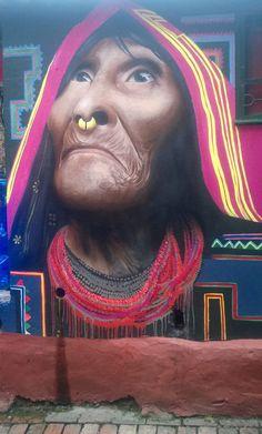 La Sanadora del callejon de la chicha Bacata Chorro de Quevedo Bogotá, Colombia Foto Keshava Lievano