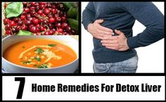 7 Home Remedies For Detox Liver