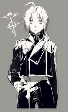 Why does Ed never wear the state alchemist uniform?<<<Because Edward Elric is a badass mofo who doesn't give a shit Fullmetal Alchemist Brotherhood, Fullmetal Alchemist Mustang, Fullmetal Alchemist Alphonse, Alphonse Elric, Full Metal Alchemist, Der Alchemist, Edward Elric, Anime Love, Anime Guys