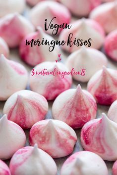 Vegan Gluten Free Meringue Kisses(Cheap Easy Meal Vegan)