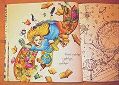 Escape to Wonderland, Mondeluz #escapetowonderland #coloringbook #colouringbook #aliceinwonderland #alice #coloringforadults #podróżdokrainyczarów #alicjawkrainieczarów #kolorowaniedladorosłych