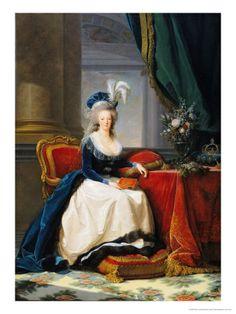 Marie-Antoinette (1788) by Elisabeth Louise Vigee-LeBrun