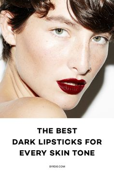 The best dark lipstick for every skin tone