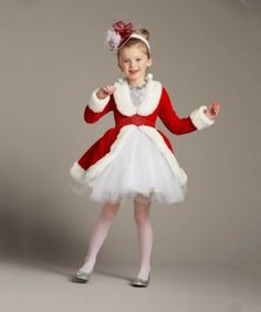 Rockettes® Santa Costume For Girls - exclusively ours - Santa Claus is coming to town! Dance your way into everyones heart as this spectacular Rockettes® performer. Santa Girl Costume, Halloween Tutu Costumes, Christmas Costumes, Girl Costumes, Baby Dress, Dress Up, Diy Ugly Christmas Sweater, Santa Dress, Special Occasion Outfits
