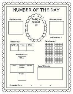 NUMBER OF THE DAY - TeachersPayTeachers.com