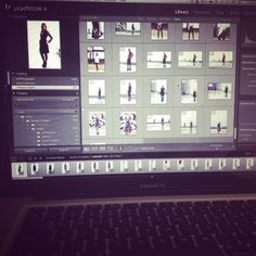 Our photographer intern is working hard on editing our fall collection!   #goingon