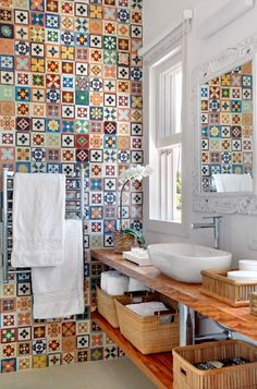 Inspiration for kitchen tile in a mini kitchen
