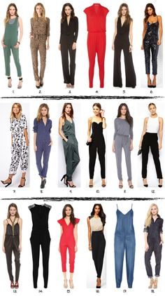 All about JUMPSUITS!