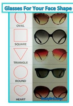 The right Sunglasses for your Face