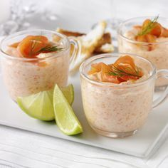 Another starter - Smoked Salmon Mousse recipe Salmon Mousse Recipes, Smoked Salmon Mousse, A Food, Good Food, Food And Drink, Yummy Food, Party Finger Foods, Snacks Für Party, Chutney
