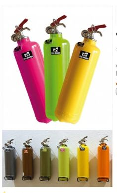 Fire anyone? Awesome extinguishers from Lexon