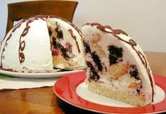 Pancho torta Ketogenic Recipes, Keto Recipes, Keto Results, Torte Cake, Cakes And More, Keto Dinner, Oreo, Food And Drink, Ice Cream