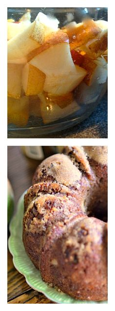 Pear Pumpkin Pecan Cake from reluctantentertainer.com
