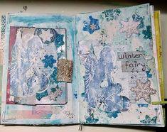 Art journal Winter Fairy, Vintage World Maps, Journal, Art, Art Background, Kunst, Performing Arts, Art Education Resources, Artworks