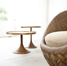 Fancy Rattan Chair: La Luna Collection for Modern Interiors by Kenneth Cobonpue