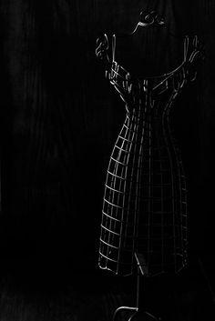 Black Dress Form