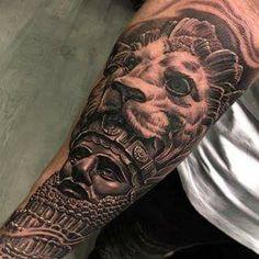History Tattoos, Ancient History, Skull, Portrait, Portrait Illustration, Portraits, Head Shots