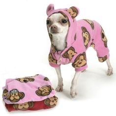 Would you dress up your dog in PJs like these?